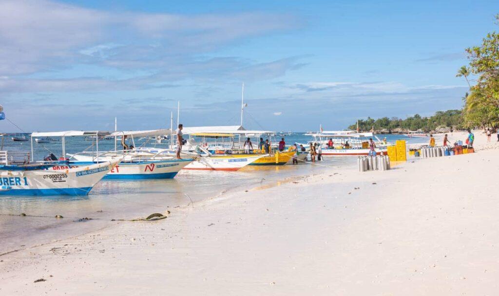 best beaches Panglao Bohol